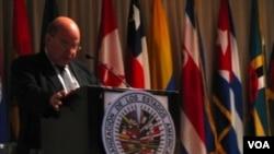 """El secretario general de la OEA, José Miguel Insulza, dijo que la situación de la prensa en Venezuela es """"ciertamente preocupante""""."""