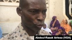 Ali Gati, coordonnateur du syndicat de travailleurs à Niamey, au Niger, le 23 janvier 2017. (VOA/Abdoul-Razak Idrissa)