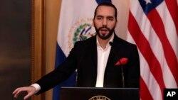 El presidente de El Salvador, Nayib Bukele, que su país no tiene las capacidades para poder recibir solicitantes de asilo enviados por Estados Unidos, como lo ha hecho con Guatemala y Honduras. Foto AP.