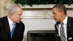 President Barack Obama and Israeli Prime Minister Benjamin Netanyahu will be meeting in Jerusalem on Wednesday. They are pictured here meeting in 2011.