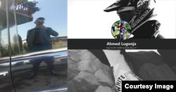 Ahmed Lugonja je na društvenim mrežama objavljivao fotografije sa simbolima nacističke i ideologije bijele moći. Foto: Screenshot, kolaž