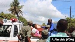 Polícia deteve manifestantes em Quelimane