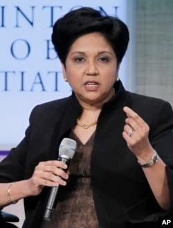 """""""Pepsi"""" kompaniyasi rahbari Indra Nuyi"""