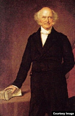 Supporters called Van Buren the Little Magician because he knew how to win elections. He was also short -- 167 centimeters.
