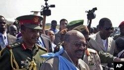 국민투표를 앞두고 남부지역을 방문한 수단 대통령