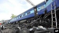 ٹرین حادثہ(فائل)