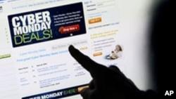 Trend belanja lewat internet terus meningkat di Amerika (foto: ilustrasi).