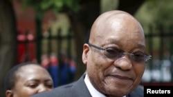 Jacob Zuma à Eersterust, Pretoria, le 15 décembre 2015. (REUTERS/Siphiwe Sibeko)