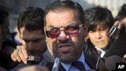 Anas al-Abdi, Suriya muxolifati liderlaridan biri, Jeneva, 25-yanvar, 2014