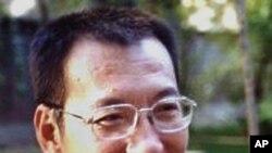 續被中國關押的諾貝爾和平獎得主劉曉波(資料圖片)