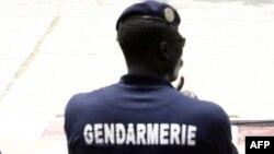 Les gendarmes à Dakar, le 2 août 2007.