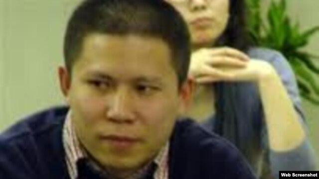 北京知名法学家,宪政学者,公民维权领军人物许志永出席研讨会。(照片取自网络)