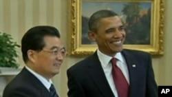 백악관에서 회담을 가진 양국 정상