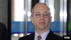 美国国务院东亚及亚太事务助理国务卿丹尼尔.拉塞尔(美国之音图片)