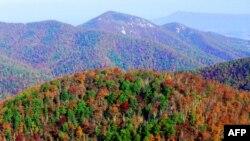 Shenandoah dhe Rruga e Qiellit në Virxhinia