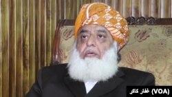مولانا فضل الرحمن وايي دوی په افغانستان کې د سولې ملګري دي