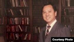 前斯坦福大学客座法律教授梁福麟(梁福麟提供)