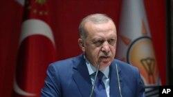 Реджеп Таїп Ердоган, президент Туреччини