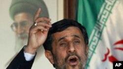 جنوبی لبنان میں صدر احمدی نژاد کا شاندار استقبال