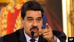 委內瑞拉總統馬杜羅 (資料照片)