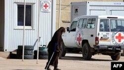 1 trung tâm nạn nhân bom mìn gần trại Rabuni trong tỉnh Tindouf của Algeria, nơi 3 nhân viên cứu trợ bị bắt cóc