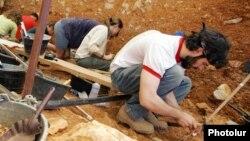 Un equipo del Museo de Historia Natural de Nuevo México excavó el hallazgo en propiedad federal en Nuevo México.