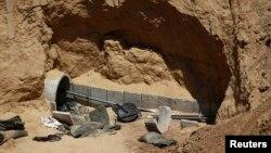 지난 2014년 8월 가자지구 국경 지역의 이스라엘 영토에서 터널을 발견됐다.