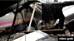 Kereta penumpang AS menabrak stasiun di Hoboken, New Jersey Kamis pagi (29/9).