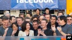 Otvaranje berze Nasdak 18. maja ove godine kada je Fejsbuk izašao sa inicijalnom javnom ponudom