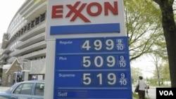 Precio del galón de gasolina en Washington el miércoles 20 de abril.