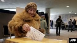 Голосование в Риге