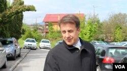 Kemal Čaušević nakon jednog od ranijih ročišta pred Sudom BiH