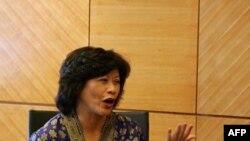 Bà Noeleen Heyzer nói rằng sự phục hồi về thương mại phần lớn nhờ vào số bán trong các nước châu Á