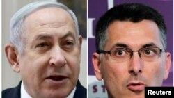 Benyamin Netanyahu ve Gideon Saar