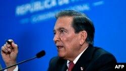 Tổng thống Panama Laurentino Cortizo.
