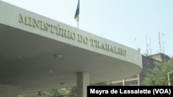 Fachada do Ministério do Trabalho de Moçambique, na capital Maputo.