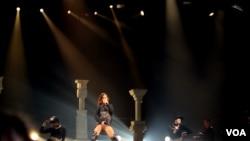 Rihanna presenta gira mundial Diamond en Washington