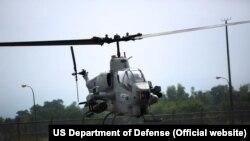 اے ایچ۔ون زیڈ وائپر اٹیک ہیلی کاپٹر (فائل فوٹو)