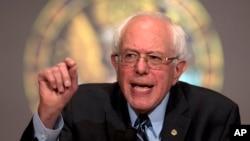 Bakal calon presiden Amerika Serikat dari Partai Demokrat, Bernie Sanders(Foto: dok).