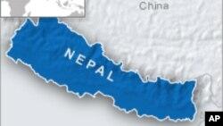 尼泊尔地图。(资料照片)