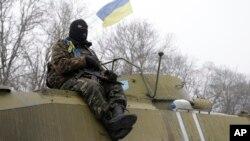 Украина, Дебальцево 16 февраля 2015