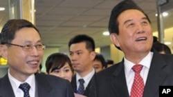 ผู้แทนเจรจาระดับสูงและคณะนักธุรกิจจีนเยือนไต้หวันเพื่อหาลู่ทางการลงทุนในไต้หวัน