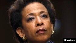Loretta Lynch devant une commission du Sénat (Reuters)