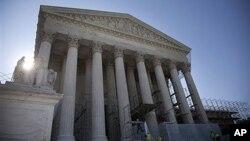 미국 대법원 건물. (자료사진)