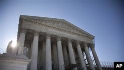 미국 오바마 대통령의 '건강보험개혁법' 위헌여부를 판결할 대법원.