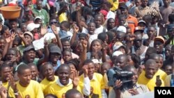 Militantes da Casa-CE numa anterior marcha