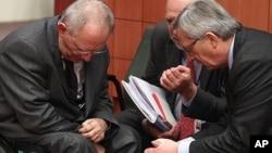 9일 브뤼셀에서 회담을 가진 유로존 재무장관들