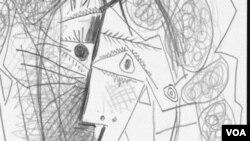 El dibujo de lápiz de Picasso fue creado en 1965 y es una pieza única en su especie y tiene el valor de seis figuras.