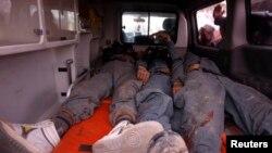 Инсајдерски напад: тела на загинатите авганистански војници во покраината Вардак