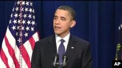 غیرملکی تیل پر انحصار کم کیاجائے: صدر اوباما